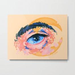 Starry Eyes Metal Print