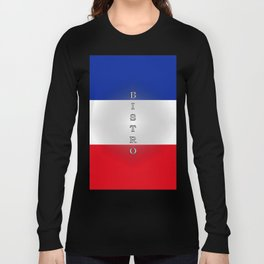 Tricolore Bistro Long Sleeve T-shirt