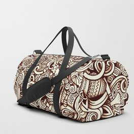 african doodle 1 Duffle Bag