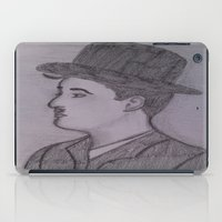 charlie chaplin iPad Cases featuring Charlie Chaplin by Natasha Lake