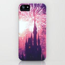 Dreaming world Disneyland iPhone Case