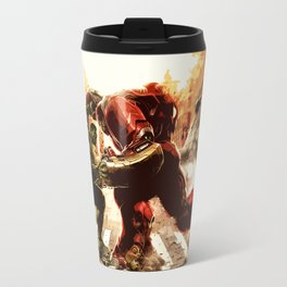 Iron man vs Hulk - Hulkbluster Travel Mug