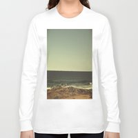 ships Long Sleeve T-shirts featuring SHIPS ON THE HORIZON by kxoxo