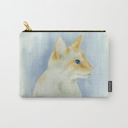 red point siamese cat 1 Carry-All Pouch