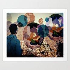 Daydream Collaboration Art Print