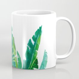 simple green Coffee Mug