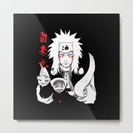 Jiraiya - Sennin Modo Metal Print