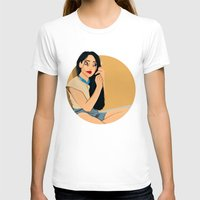 pocahontas T-shirts featuring Junkie Pocahontas by Fransisqo82
