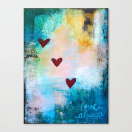 Love Always... Canvas Print