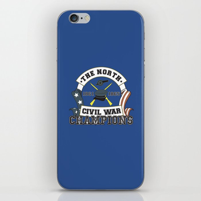 edcd1688f American Civil War Champions - Northern Pride - The Union - Parody Shirt  iPhone Skin