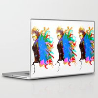 firefly Laptop & iPad Skins featuring Firefly by Lyndi May