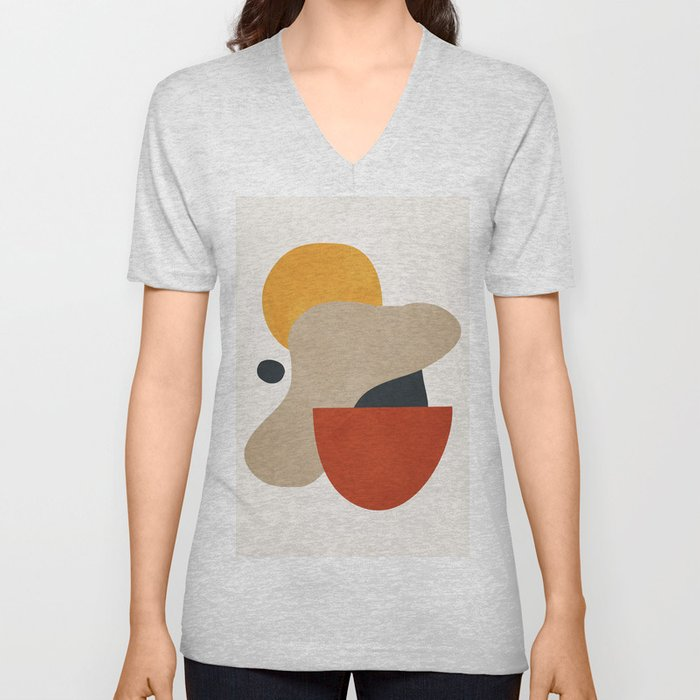 Abstract Art 11 Unisex V-Neck