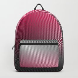 Metallic Hot pink Sheen Backpack