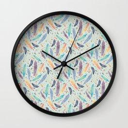 Gypsy Dreams on Mint Wall Clock