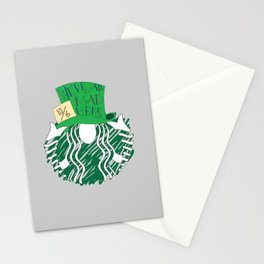 Starbucks 'We're All Mad Here' Stationery Cards