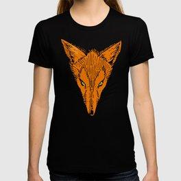 Fierce Fox Head T-shirt