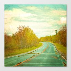 Setting Forth Canvas Print