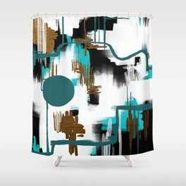 Deco Night Shower Curtain
