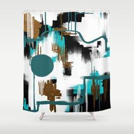 Deco Night Shower Curtain