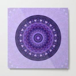 Mandala Universe Metal Print