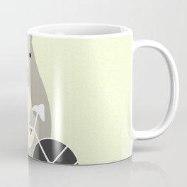 Bear with bike Coffee Mug