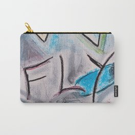 Fly #1 #abstract #drawing #art #society6 Carry-All Pouch