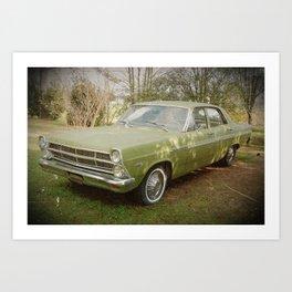 Good Old Ford Fairlane Art Print