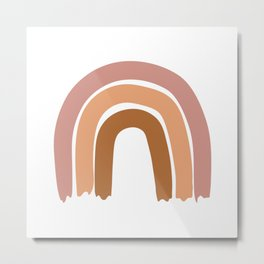 Simple Rainbow Metal Print