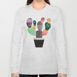 Pretty Cactus Long Sleeve T-shirt