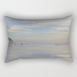 Photography - Misty Reflection at Torrey Beach Rectangular Pillow