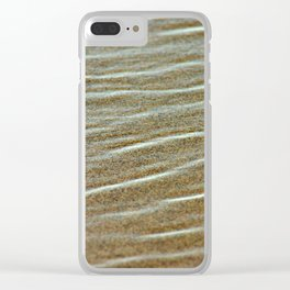 Sean and sand Clear iPhone Case
