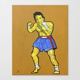 Tiger Wake Uppercut San Francisco Canvas Print
