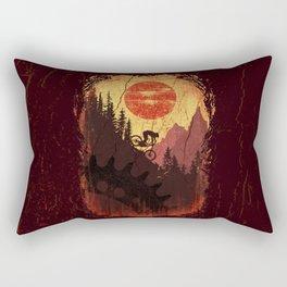 Vintage Downhill Rectangular Pillow
