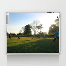 Football in Indian Church, Belize Laptop & iPad Skin