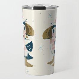 Puffins & Presents Travel Mug