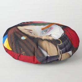 Face It Johnny Floor Pillow