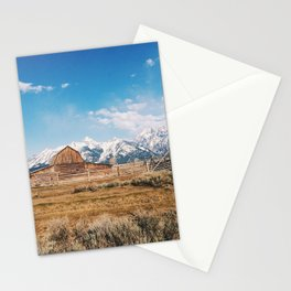 The Grand Tetons Stationery Cards