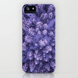 Aerial Pine iPhone Case