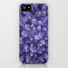 Aerial Pine iPhone Case