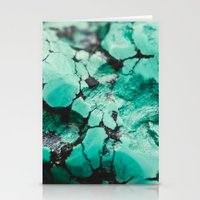 turquoise Stationery Cards featuring Turquoise  by Laura Ruth