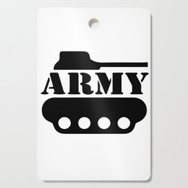 Army Tank Cutting Board