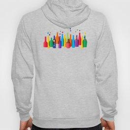 Colored bottles Hoody
