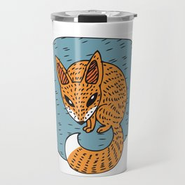 Fox Hole Travel Mug