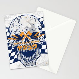 Death Valley Racers (Navy Orange) Stationery Cards