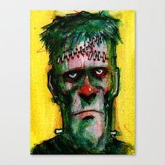 Frankensteins Monster is tired Canvas Print
