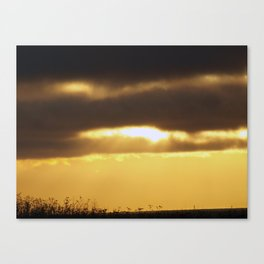 Hole in the Clouds Canvas Print