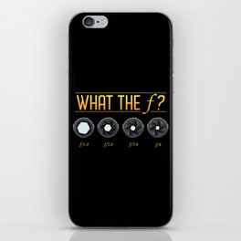 What the F? iPhone Skin