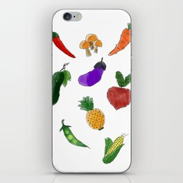 Vegetable iPhone Skin