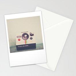 a portrait of a vintage camera Stationery Cards