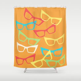Becoming Spectacles Shower Curtain